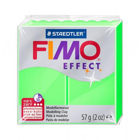 Fimo effect nr. 501 Neon Groen