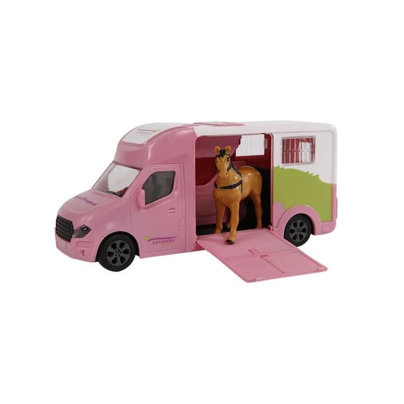 Kids Globe Anemone paardentruck met licht en geluid 20 cm.