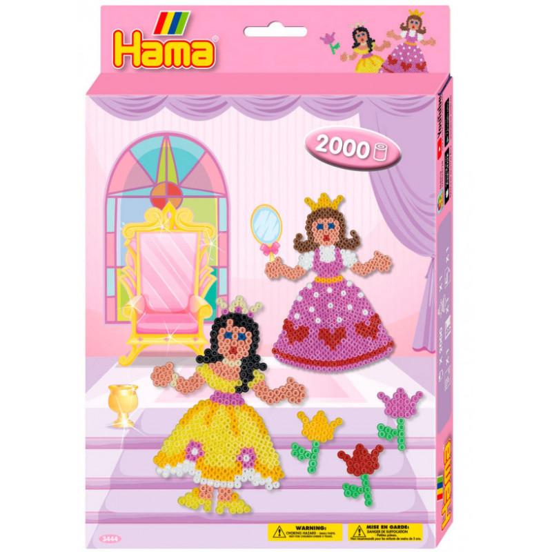 Hama Strijkkralenset Prinses 2000st.