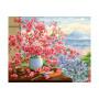 Sakura Bouquet - Schilderen op nummer - 40 x 50 cm