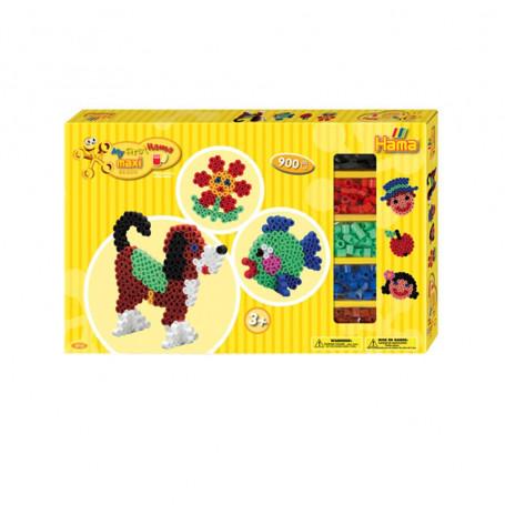 Hama Maxi strijkkralen giftbox 900 stuks