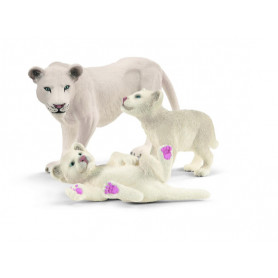 Schleich 42505 Lion mother with cubs