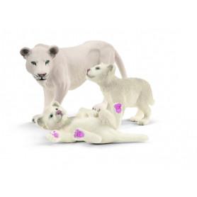 Schleich 42505 Löwenmutter mit Babys