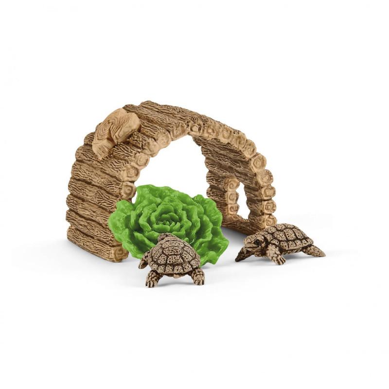 Schleich 42506 Tehuis voor Reuzenschildpadden
