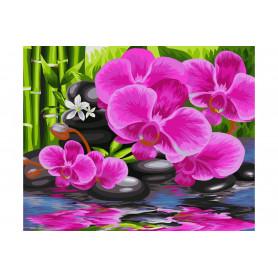 Oriental Garden - Schilderen op nummer - 40 x 50 cm