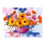 Field Flowers - Schilderen op nummer - 40 x 50 cm