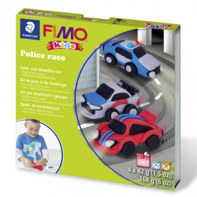 Fimo Kids Set Police Race