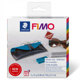Fimo Leather DIY Brillenkoker
