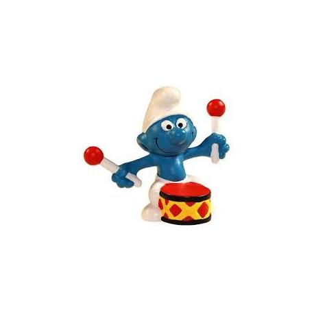 Schleich 21004 Drummer Smurf