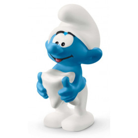 Schleich 20820 Smurf with tooth