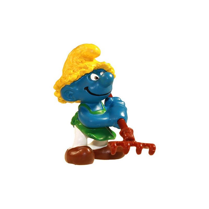 Schleich 21009 Tuinman Smurf in blister verpakking