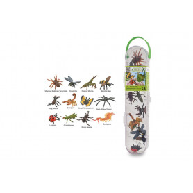 Collecta 89106 Mini Insects & Spiders Set of 12 pieces