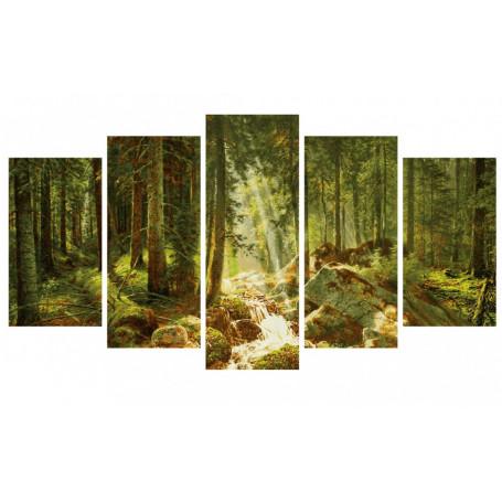 Ons Bos - Schipper Vijfluik 72 x 132 cm