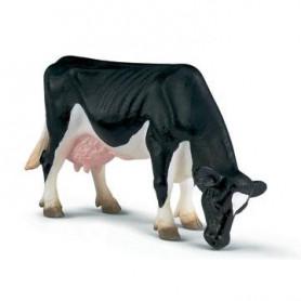 Schleich 13141 Kuh schwarzbunt grasend