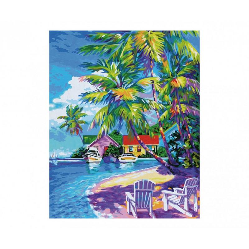 Zonnige Caraïbische Zee