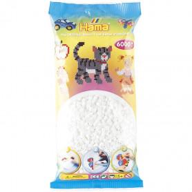 Hama beads 01 White (6000)