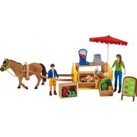 Schleich 42528 Mobiler Farm Stand