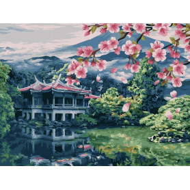 Oriental Expanses - Paint by Numbers - 40 x 50 cm