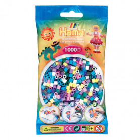 Hama Strijkkralen 69 Pastel Color Mix