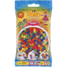 Hama Beads 51 Neon Mix
