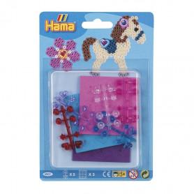Hama Beads gems & foam kit