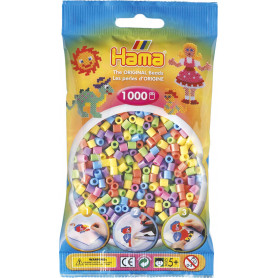 Hama Beads 50 Pastel Color Mix