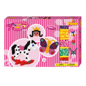 Hama Maxi strijkkralen giftbox 900 stuks - Meisjes