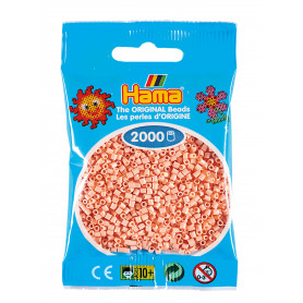 Hama mini beads color 78 Light peach