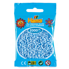 Hama mini kralen kl 97 Pastel Ijsblauw
