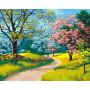 Blooming Spring - malen nach zahlen - 40 x 50 cm