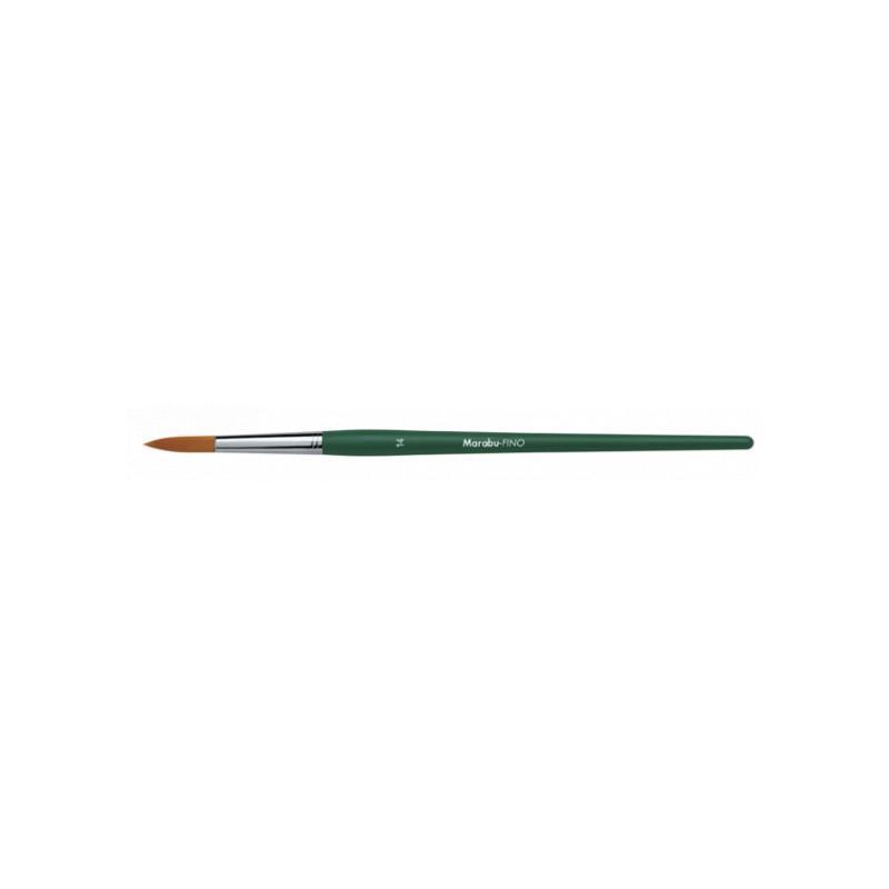Marabu Fino penseel rond syntetisch nr. 14