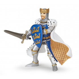 Papo 39953 Koning Arthur blauw
