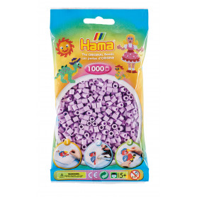 Hama strijkkralen 96 Pastel Lila