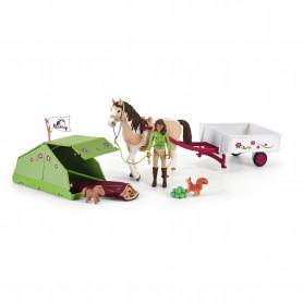 Schleich 42533 Séjour au camping d'Horse Club Sarah