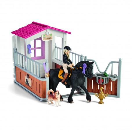 Schleich 42437 Paardenbox met Tori & Princess