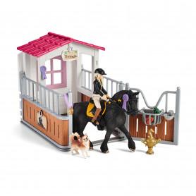 Schleich 42437 Horse Box with Horse Club Tori & Princess
