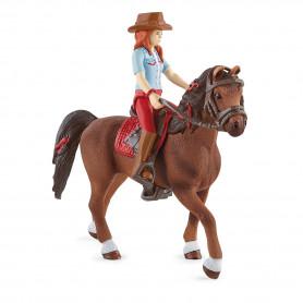 Schleich 42539 Horse Club Hannah & Cayenne
