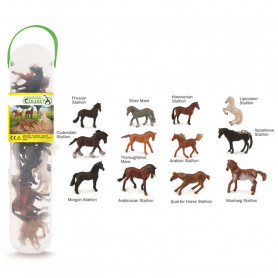CollectA A1109 Mini Paarden Set (12 stuks)
