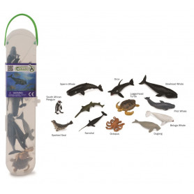 CollectA A1108 Mini Zeedieren Set (12 stuks)