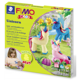 Fimo Kids Unicorn Form and Play Set