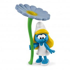 Schleich 20828 Smurfin met bloem