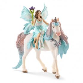Schleich 70569 Eyela mit Prinzessinnen-Einhorn
