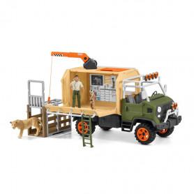 Schleich 42475 Großer Truck Tierrettung
