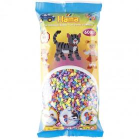 Hama bead Mix - Pastel (6000)
