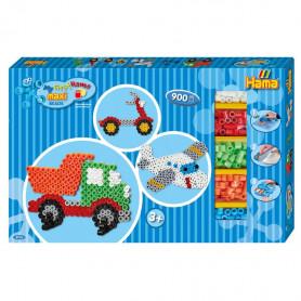 Hama Maxi Giant gift box - Blue (Truck / Airplane)