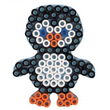 Hama maxi strijkkralen grondplaat Pinguin