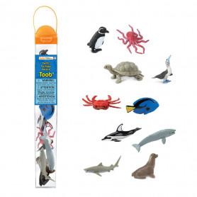 Safari 100308 Mini Zeedieren Set (10 stuks)