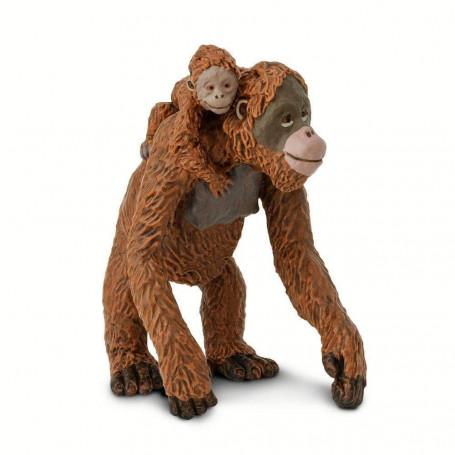 Safari 293529 Orang-oetan met baby