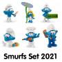 Schleich Smurfs 2021 (set, 6 pieces)