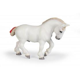 Papo 51567 Percheron blanc